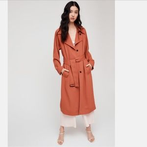 Aritzia Wilfred Pelat Trench Coat